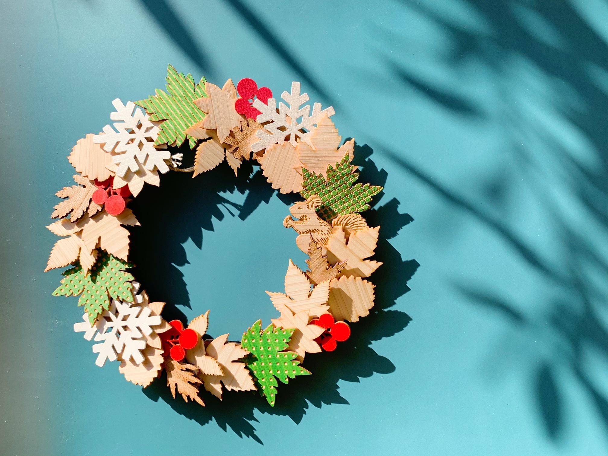 -wreath craft kit-